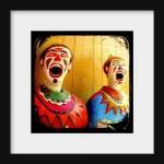 Clown Photo Print 5x5 TtV Carnival ..